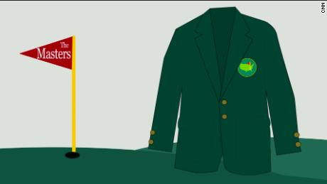The Masters and the coveted 'green jacket'