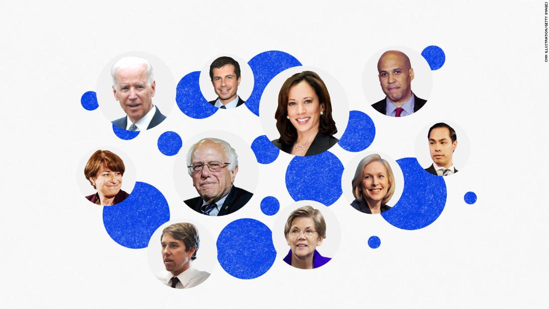 Here's why 8 Democratic presidential hopefuls think women of color should vote for them