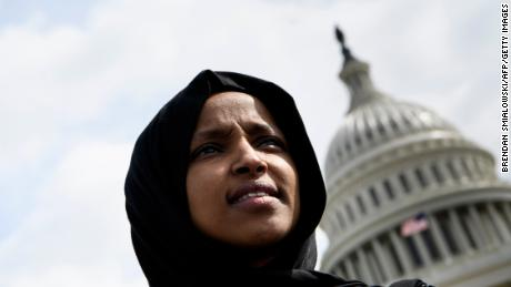 Congressional Black Caucus says Trump put Ilhan Omar's 'life in danger'