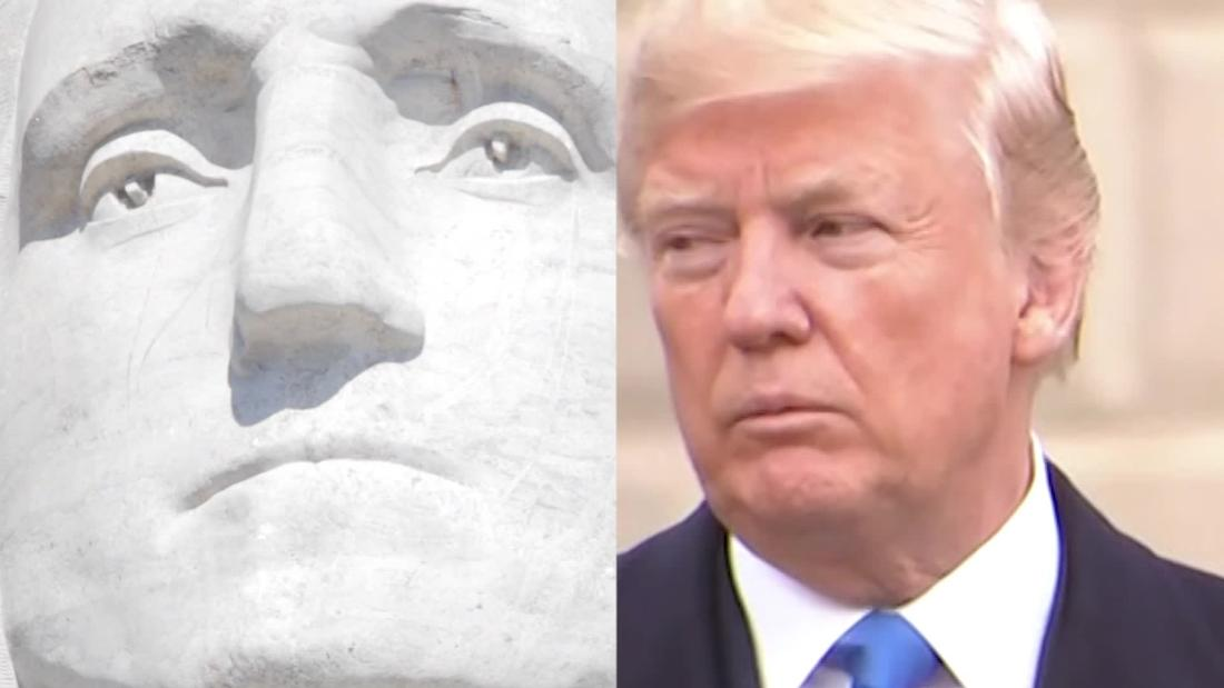 It's Donald Trump vs. George Washington
