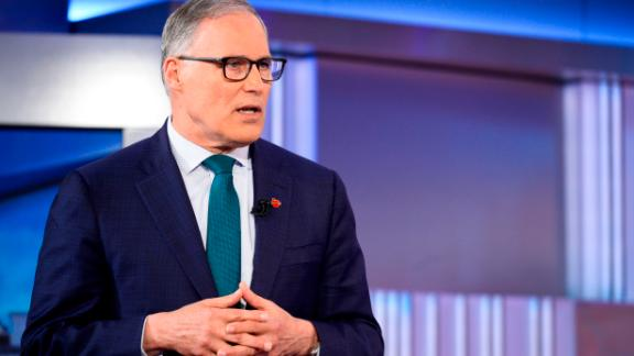 CNN Town Hall with Jay Inslee