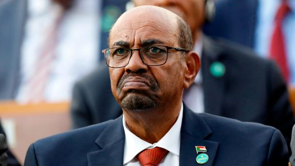 FILE - In this July 9, 2018, file photo, Sudan's President Omar al-Bashir attends a ceremony for Turkey's President Recep Tayyip Erdogan, at the Presidential Palace in Ankara, Turkey. Sudan's President has declared a state of emergency on Friday, Feb. 22, 2019, for a year and disbanded the government amid deadly protests. Al-Bashir — who seized power in a 1989 coup— also said Friday that for now he will not change the constitution to allow himself to seek a third term in office. (AP Photo/Burhan Ozbilici, File)