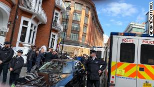 LIVE UPDATES: Julian Assange arrested in London