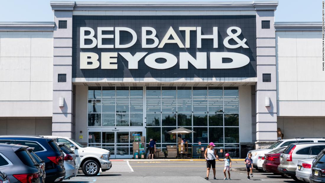 Bed Bath & Beyond to close 40 stores - CNN thumbnail