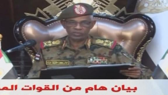 Sudan's defense minister goes on television April 11 to say Bashir's government has been dissolved.