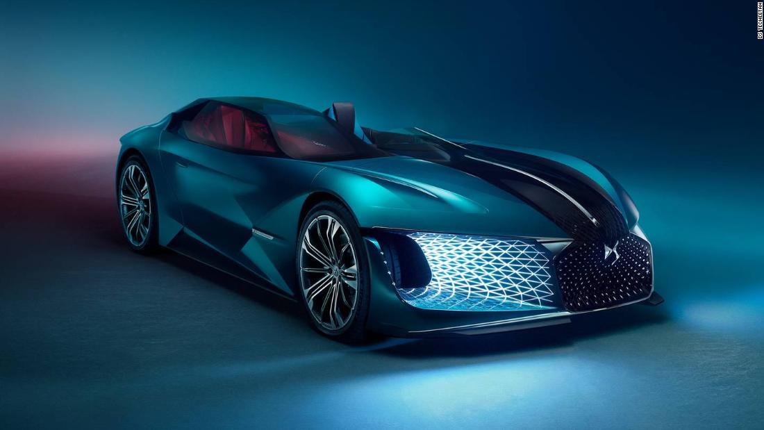 Techeetah Partner DS Releases X E-TENSE Electric Supercar