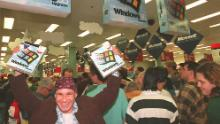 Early tech companies like Microsoft boomed during the 1990s, fueling huge stock market gains.