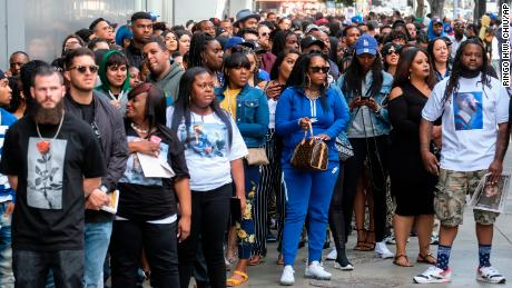 Nipsey Hussle funeral: Obama, Snoop Dogg and Stevie Wonder among
