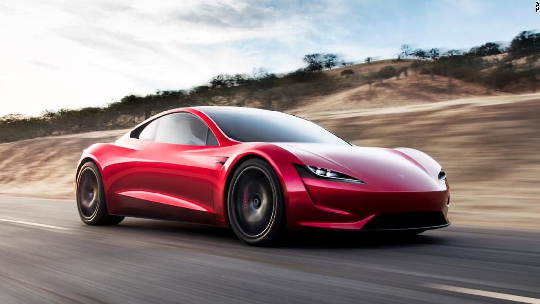 Tesla expect its electric supercar, the Roadster, to be ready as early as next year and claim in will be able to complete 620 miles per charge, while boasting a top speed of 250mph.