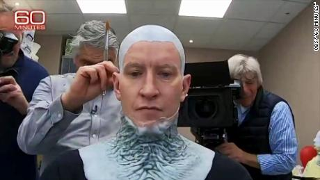 Anderson Cooper becomes a 'GoT' White Walker