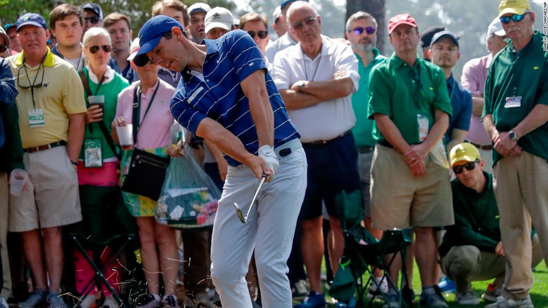 However, the 29-year-old Northern Irishman got off to a poor start on day one at Augusta.