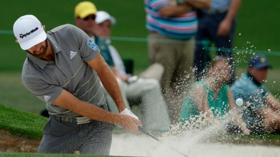 World No.2 Dustin Johnson finished strongly to end four under par, two off the lead.