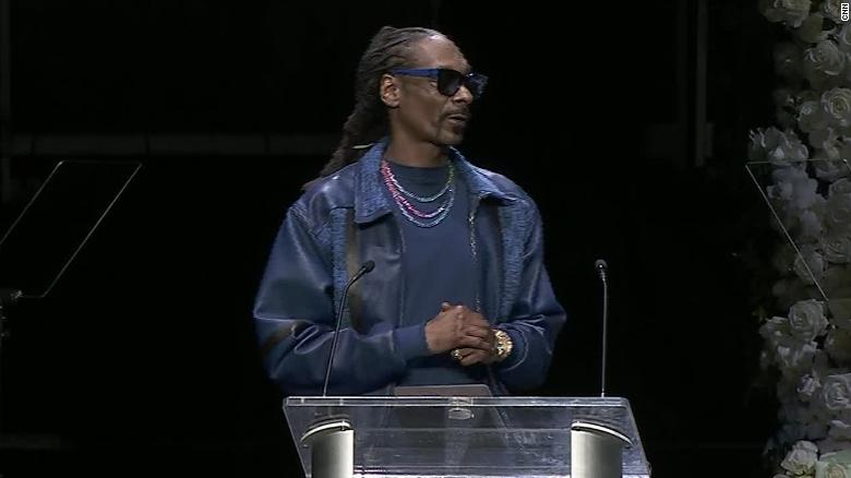 Snoop Dogg gets emotional remembering Nipsey Hussle