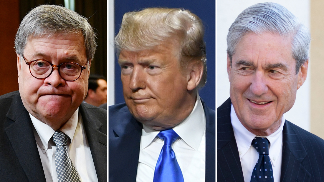 The Justice Department attempted to keep restricted an agency opinion to not charge former President Trump with obstruction at the end of the Mueller probe