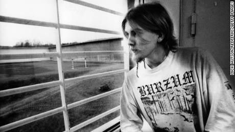 A former member of Mayhem Varg Vikernes has appeared in his Norwegian cell.