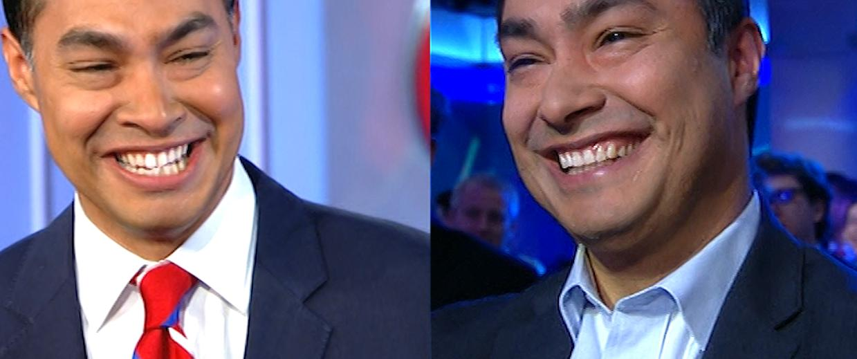 Image result for Joaquin Castro laughing
