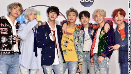 BTS brings glamour to sold-out show at Rose Bowl Stadium