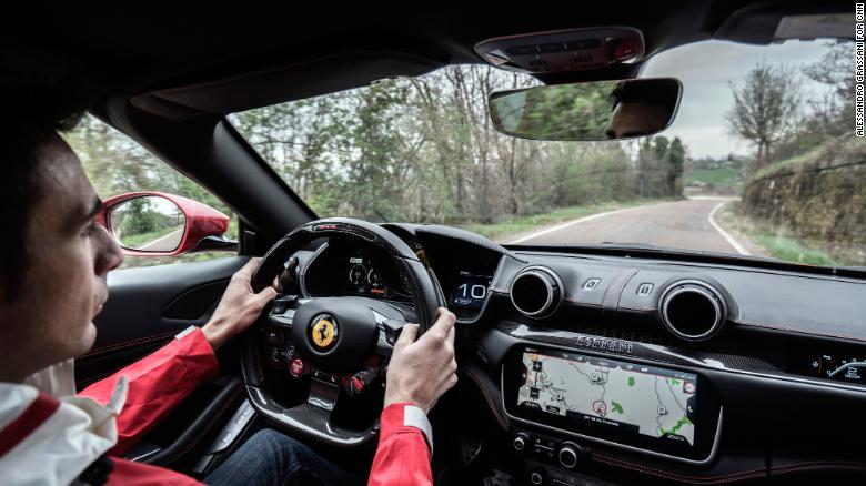 Ride shotgun with Ferrari's official test driver