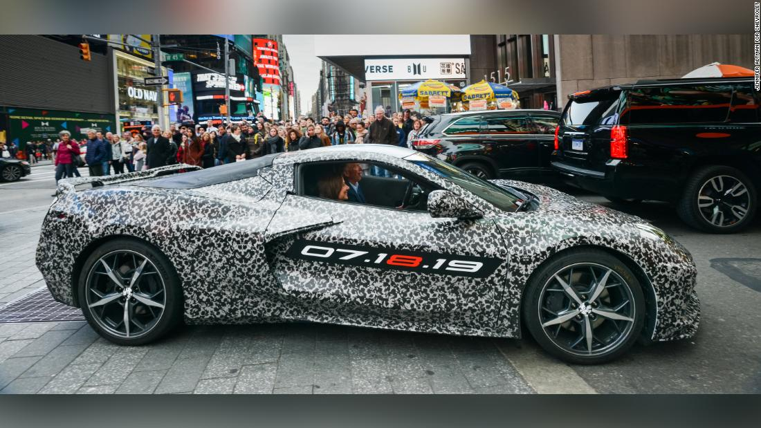 Gm To Reveal A Radically New Corvette Cnn