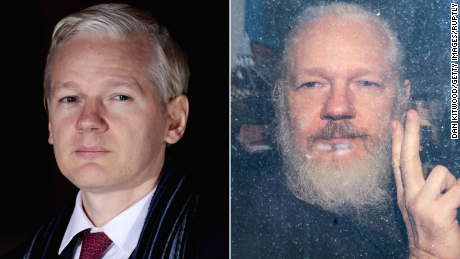 WikiLeaks founder behind bars, faces extradition