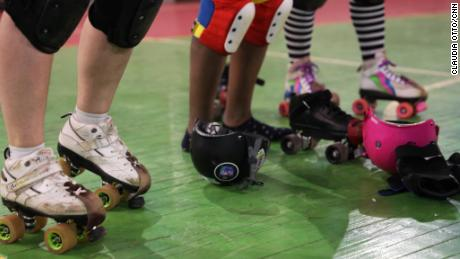 Until recently, the Rollerciraptors -- Moscow's only roller derby team -- didn't have a place to train.