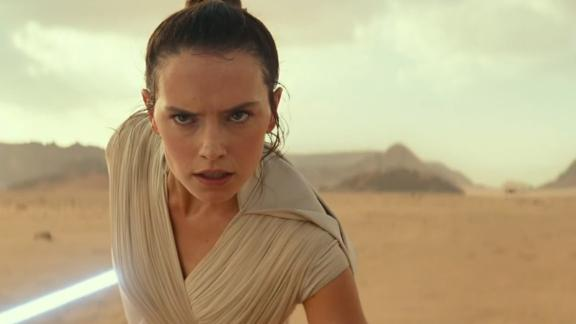 Daisy Ridley in 'Star Wars: The Rise of Skywalker'