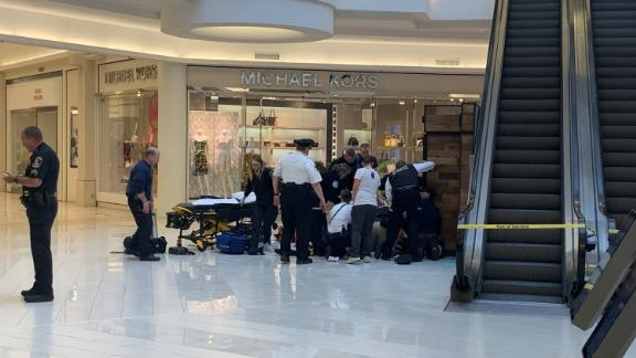 MINNEAPOLIS (WCCO) ó A child was rushed to a hospital Friday morning after reportedly being thrown from a balcony at the Mall of America, and one person has been taken into custody.A witness at the Bloomington mall told WCCO that a woman was screaming that someone threw her child from the third floor balcony. This was near the southeast corner of the mall.