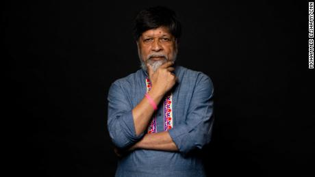 Shahidul Alam poses for a portrait in New York in April 2019.