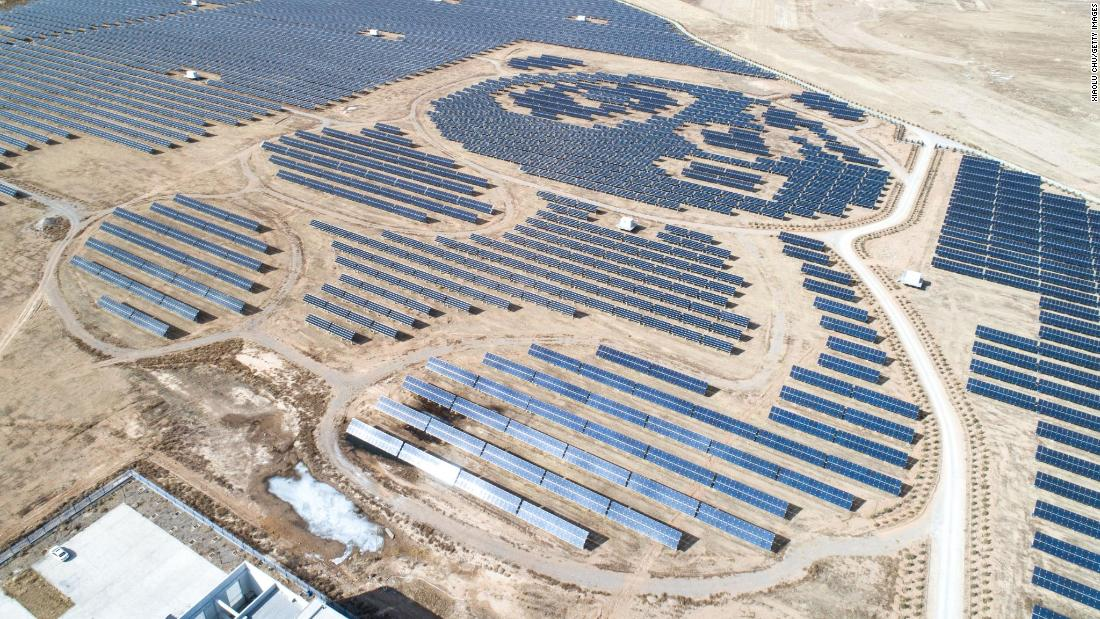 "Connected to the grid in <a href=""http://www.pandagreen.com/show-347.html"" target=""_blank"">June 2017</a>, Panda Green Energy's solar farm puts the animal after which it's named on the map. The solar arrays form the shape of two giant pandas, and over 25 years the company say the 100-megawatt park can produce 3.2 billion kilowatt hours of energy. But the Datong site is only a tiny fraction of the company's massive <a href=""http://www.pandagreen.com/show-1457.html"" target=""_blank"">2,110-megawatt</a>, 68-power plant portfolio, as of June 2018."