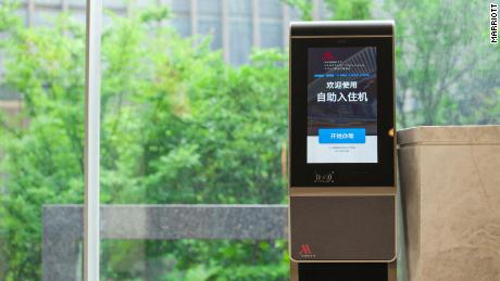 Facial recognition technology was introduced at two Marriott hotels in Hangzhou and Sanya, China last year.