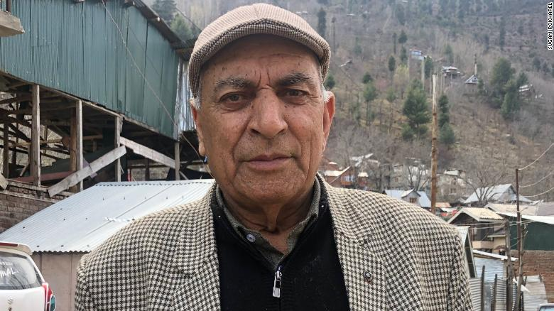 Kashmir resident Gulam Rasul has given up dreaming of peace.