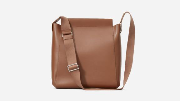 """<strong>Everlane The Form Bag ($235; </strong><a href=""""http://redirect.viglink.com?type=bk&opt=false&u=https%3A%2F%2Fwww.everlane.com%2Fproducts%2Fwomens-form-bag-cognac%3Fcollection%3Dwomens-leather-bags&key=ed7eb6546c416eb284920d7a87c6d8c4"""" target=""""_blank"""" target=""""_blank""""><strong>everlane.com</strong></a><strong>)</strong><br /><br />A casual and comfortable option, the Everlane Form Bag switches easily from work to weekend. It's made of Italian leather with a thick adjustable strap, a magnetic closure and an interior pocket. It's roomy enough for a 13-inch laptop."""