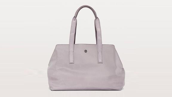 """<strong>Lululemon Go Getter Bag ($128;</strong><a href=""""http://redirect.viglink.com?type=bk&opt=false&u=https%3A%2F%2Fshop.lululemon.com%2Fp%2Fbags%2FGo-Getter-Bag-Heat%2F_%2Fprod8480220%3Fcolor%3D28603&key=ed7eb6546c416eb284920d7a87c6d8c4"""" target=""""_blank"""" target=""""_blank""""><strong> lululemon.com</strong></a><strong>)</strong><br /><br />If you're looking for a work bag that also doubles as a gym bag or even an overnight bag, the Lululemon Go Getter Bag is perfect for you. It has all the space you need for your work and workout essentials, a built-in padded sleeve for a 15-inch laptop, interior pockets to keep your sweaty gear separate, and even an exterior strap to keep your yoga mat in place."""