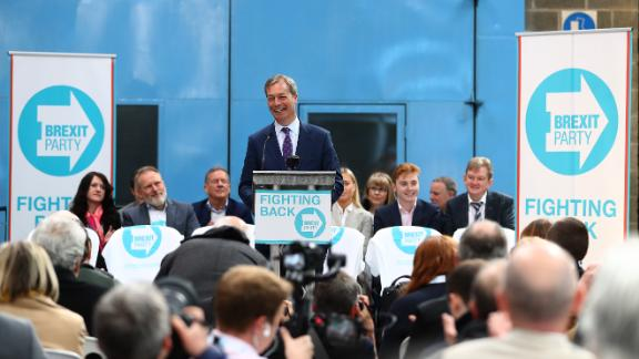 Ahead of the European Parliamentary electins, former UKIP leader Nigel Farage launched the Brexit Party.