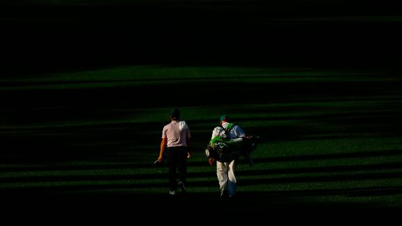 Molinari made his first visit to Augusta as caddie for his older brother Edoardo in 2006.