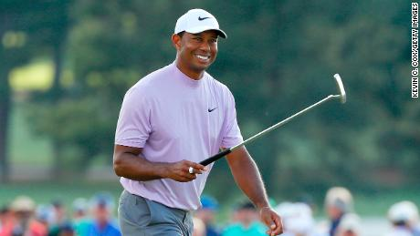 Tiger Woods is bidding for a fifth Green Jacket at the Masters.
