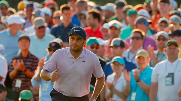 Francesco Molinari is bidding to add the Masters to his Open title.