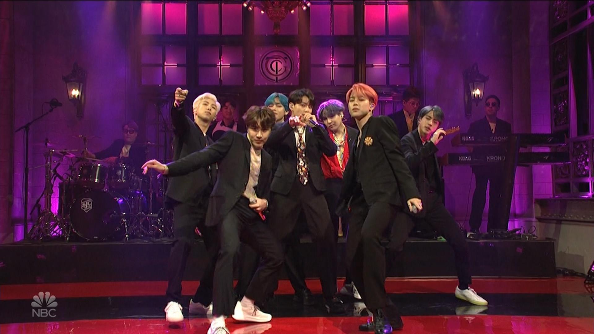 K-pop group BTS takes over 'SNL'