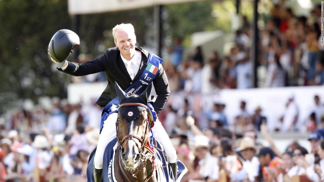 Jerome Guery  and Quel Homme de Hus celebrated their first LGCT victory in Mexico.