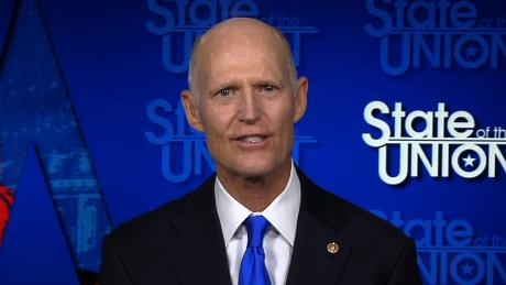 GOP Sen. Rick Scott says 'we haven't beaten' Covid-19