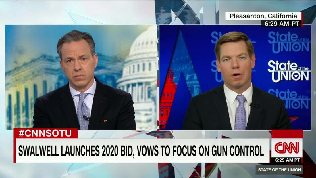 Swalwell on proposed assault weapons ban: 'Keep your pistols, keep your long rifles, keep your shotguns'