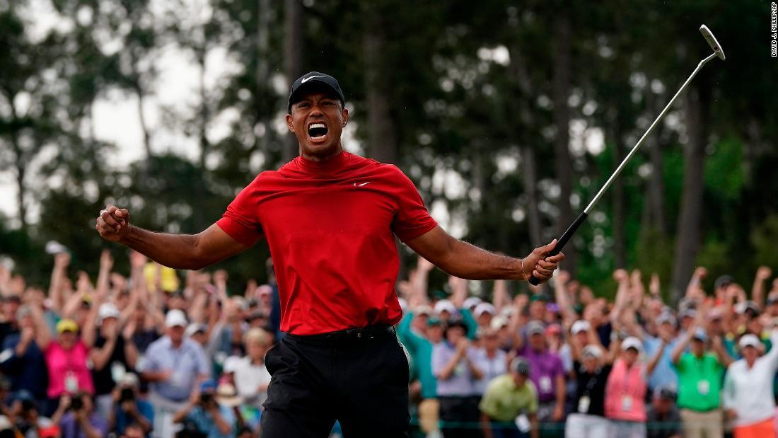 Tiger Masters Wins