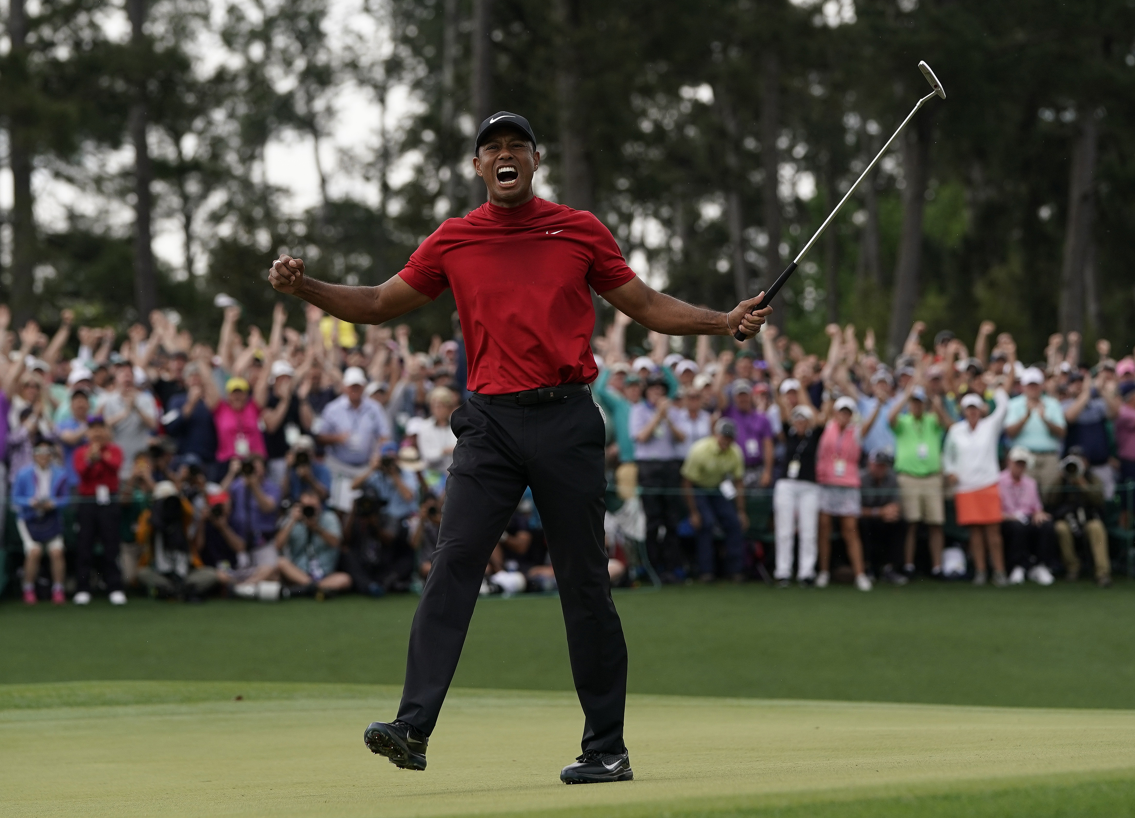 d038e67f Tiger Woods wins Masters for fifth time - CNN Video