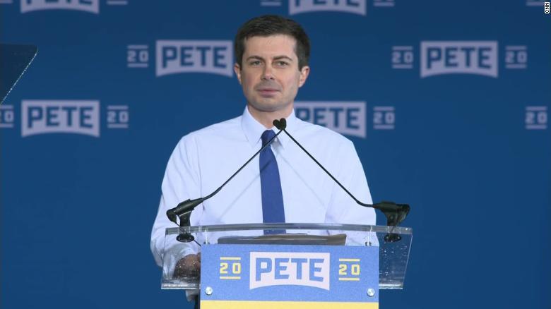 Buttigieg officially announces presidential campaign