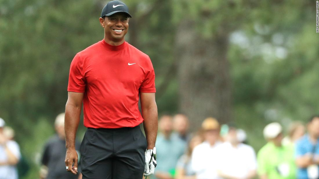 b5e6a45ce Tiger Woods seals fifth Masters title and 15th major on ZIG