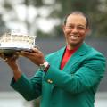 Tiger Woods Masters green jacket