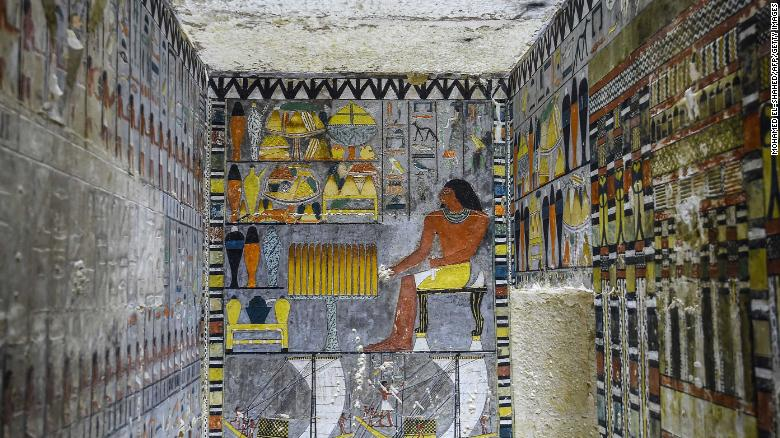 Colorful 4,000-year-old Egyptian tomb intrigues archaeologists