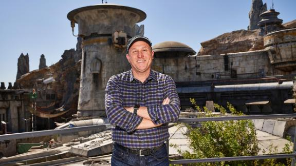 Scott Trowbridge is the studio leader at Walt Disney Imagineering and the creative force behind Star Wars: Galaxy's Edge.
