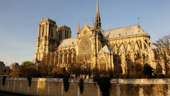 PARIS, FRANCE - DECEMBER 20 : Notre Dame de Paris. The Catholic cathedral Notre Dame de Paris, on the edges of the Seine on December 20, 2015 in Paris, France. (Photo by Frédéric Soltan/Corbis via Getty Images)
