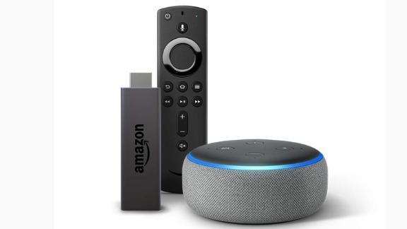 "<a href=""https://amzn.to/2Xdzoxx"" target=""_blank"" target=""_blank""><strong>Fire TV Stick with Echo Dot ($74.98, originally $89.98; amazon.com)</strong></a>"